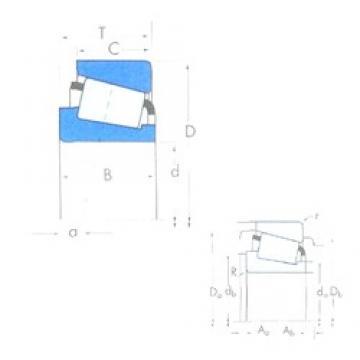 Timken EE126097/126150 tapered roller bearings