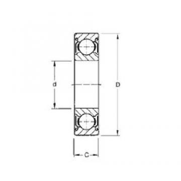 Timken 9106KDD deep groove ball bearings
