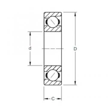 Timken 7405W angular contact ball bearings