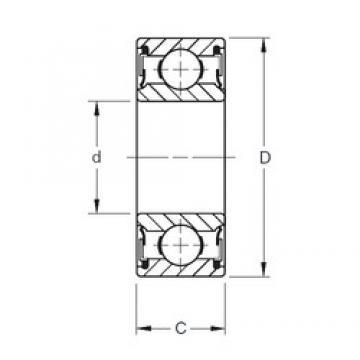 Timken 9103PP deep groove ball bearings