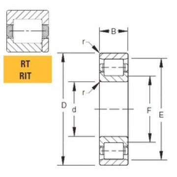 Timken 320RT02 cylindrical roller bearings
