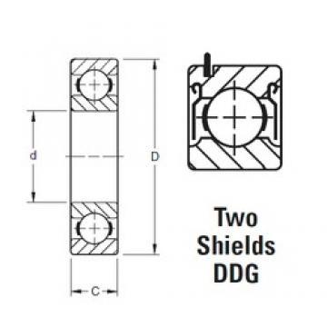Timken 204KDDG deep groove ball bearings