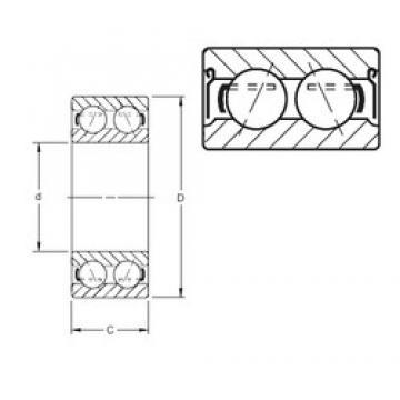 Timken 5216DD angular contact ball bearings