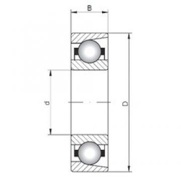 ISO E20 deep groove ball bearings