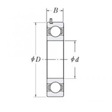 KOYO 83A209D-9TC3 deep groove ball bearings