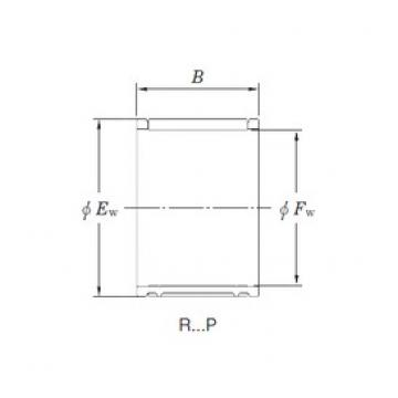 KOYO R16/22,5EP needle roller bearings