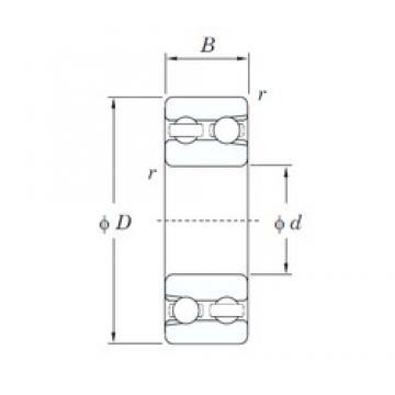 KOYO 4214 deep groove ball bearings