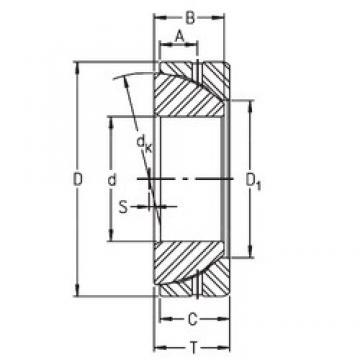 Timken GE100SX plain bearings