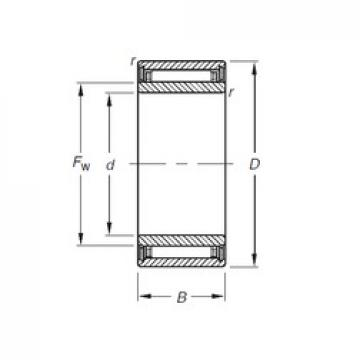 Timken NKJ7/16TN needle roller bearings