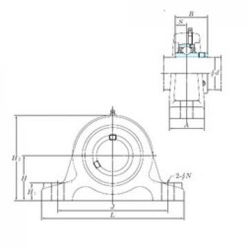 KOYO UCIP318-56 bearing units