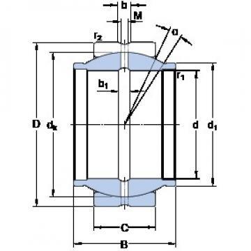 SKF GEZM 108 ES plain bearings