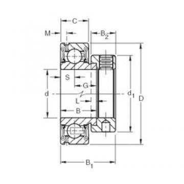 Timken GRA108RR deep groove ball bearings