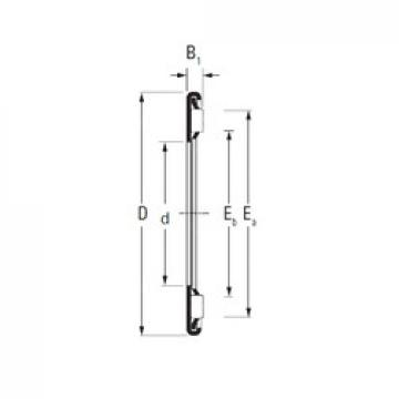 KOYO AX 13 26 needle roller bearings