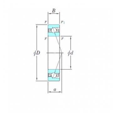 KOYO HAR022CA angular contact ball bearings