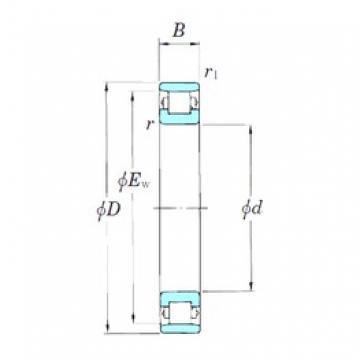KOYO 3NCN1020 cylindrical roller bearings