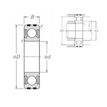NTN EC-6302LLU deep groove ball bearings