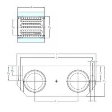 SKF LTDR 30-2LS linear bearings