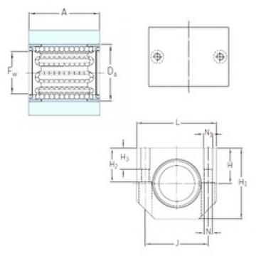 SKF LUHR 30 linear bearings