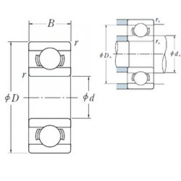 NSK MR63 deep groove ball bearings
