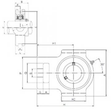 ISO UCT206 bearing units