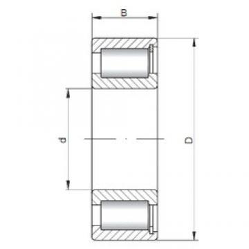 ISO SL182214 cylindrical roller bearings