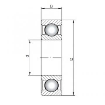 ISO 61968 deep groove ball bearings