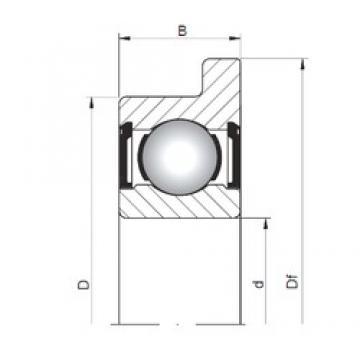 ISO FL626 ZZ deep groove ball bearings