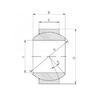 ISO GE 120 HS-2RS plain bearings
