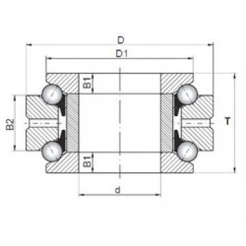 ISO 234430 thrust ball bearings