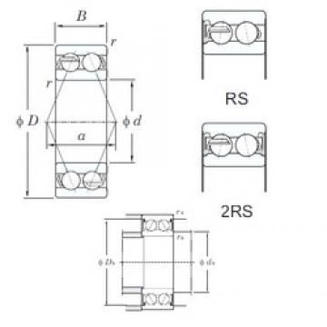 KOYO 5209-2RS angular contact ball bearings