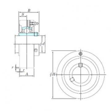 KOYO UCCX06 bearing units