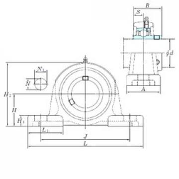 KOYO UCPX11-35 bearing units