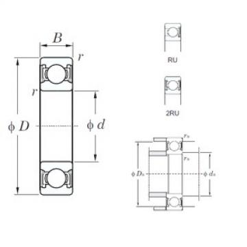 KOYO 6928-1-2RU deep groove ball bearings