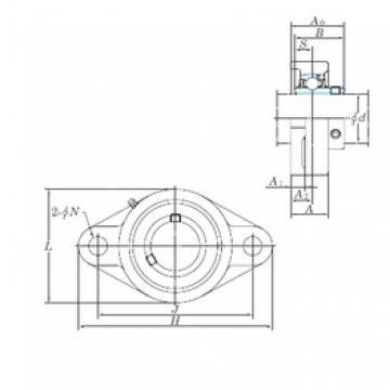 KOYO UCFL210-30E bearing units