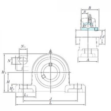 KOYO UCP320-64SC bearing units