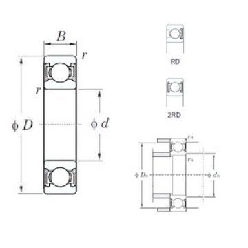KOYO 6918-2RD deep groove ball bearings