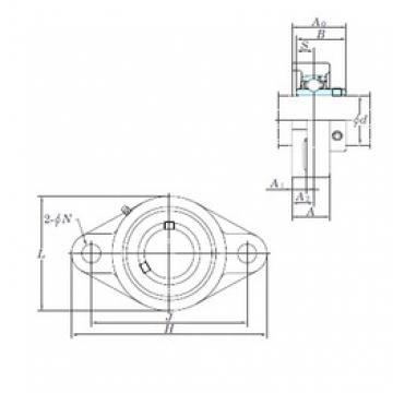 KOYO UCFL210-31 bearing units