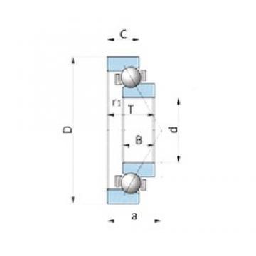 KOYO AC4531 angular contact ball bearings