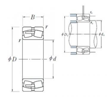 NSK 22238CAE4 spherical roller bearings