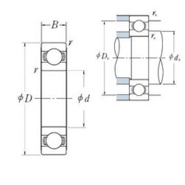 NSK 6332 deep groove ball bearings