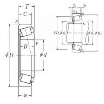NSK HR30226J tapered roller bearings