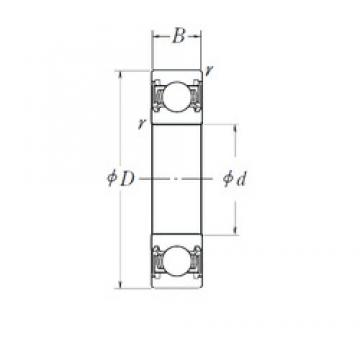 NSK 6214DDU deep groove ball bearings
