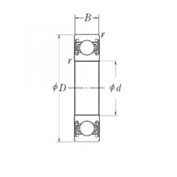 NSK B17-123 deep groove ball bearings