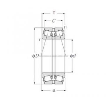 NTN 423096 tapered roller bearings