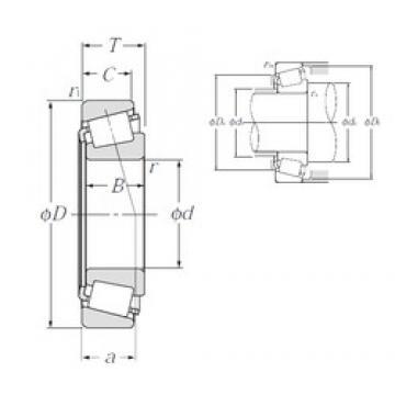 NTN 4T-28995/28920 tapered roller bearings