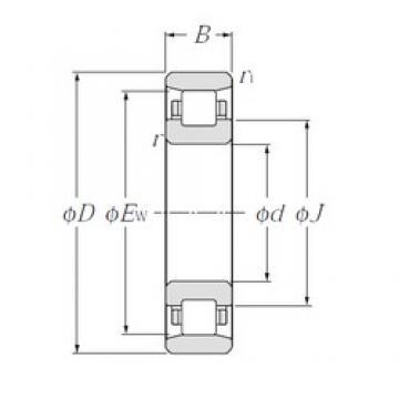 NTN N2213 cylindrical roller bearings