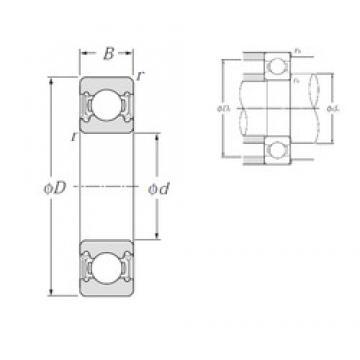 NTN 6013LLU deep groove ball bearings