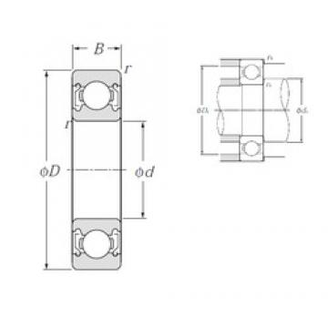 NTN 6915ZZ deep groove ball bearings