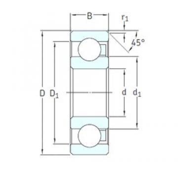 SKF 607/HR22T2 deep groove ball bearings