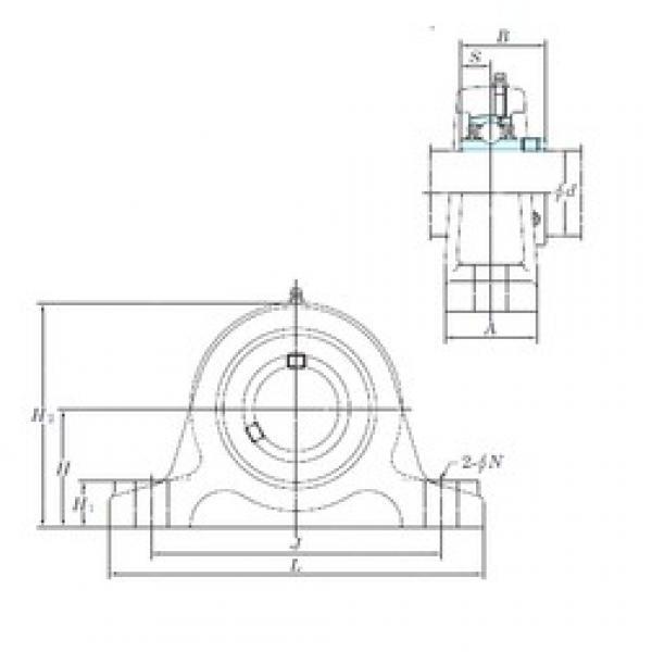 KOYO UCIP318-56 bearing units #2 image